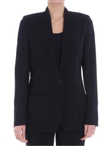 Jucca - Black jacket with vent