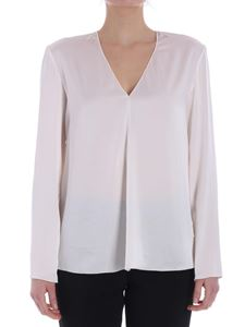 Jucca - Cream-color V-neck blouse