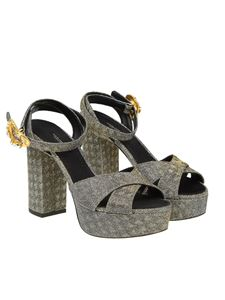 Dolce & Gabbana - Keira sandals with lurex inserts