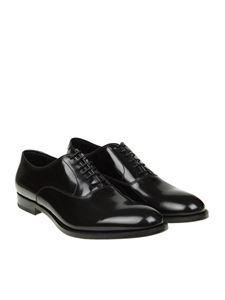 Doucal's - Black Oxford shoes