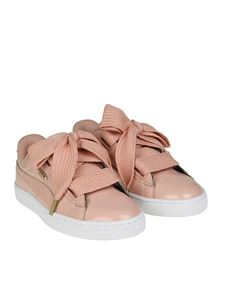 Puma - Pink Basket Heart Patent Wn's sneakers