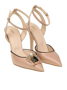 Red Valentino - Pink leather pumps