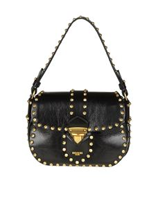 Moschino - Studded shoulder bag