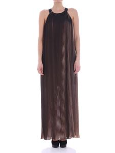 Trussardi Jeans - Black and pink pleated dress