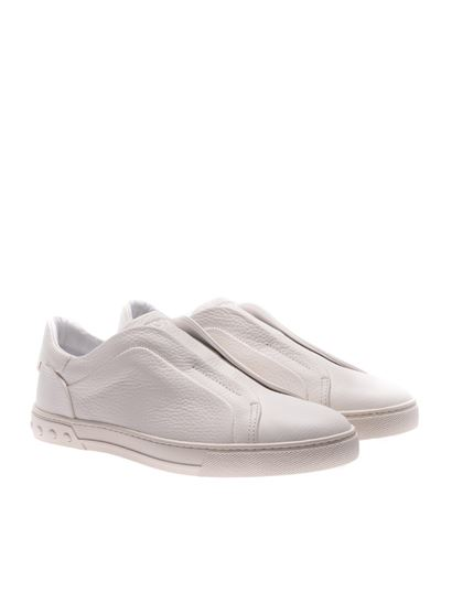Tod s Spring Summer 2018 white sneakers without laces ... 8813f9cfe