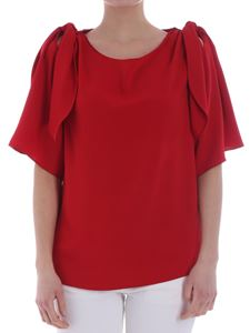 Parosh - Red top with cut-out