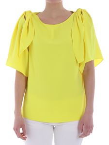 Parosh - Yellow top with cut-out