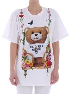 Moschino - White Teddy Bear T-shirt
