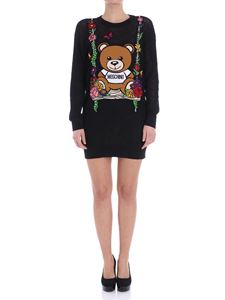 Moschino - Teddy Bear pierced sweater