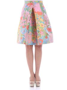 Moschino Boutique - Multicolor floral print skirt