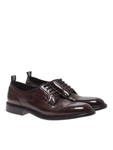 Green George - Brown leather Derby shoes
