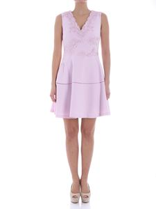 Ermanno by Ermanno Scervino - Pink dress with macramé inserts