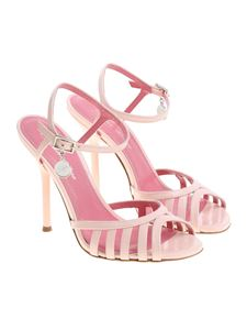 Blumarine - Pink patent leather sandals