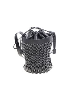 Paco Rabanne - Black bucket bag