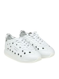 Ghoud Venice - White lasered sneakers