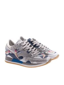 Philippe Model - Tropez sneakers with bird embroideries