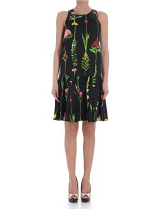 Moschino - Black floral dress