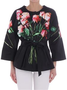 Moschino - Black Rose jacket