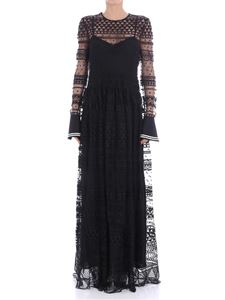 Philosophy di Lorenzo Serafini - Black tulle dress with embroidery