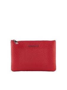 Orciani - Red leather wallet
