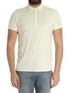 Majestic Filatures - Ivory color cotton polo