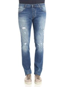 Entre Amis - 5 pocket ripped jeans
