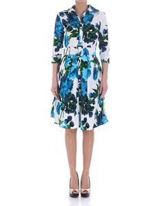 Samantha Sung - White floral pattern dress