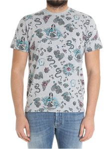Etro - Gray Indian printed t-shirt