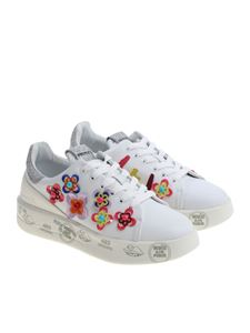 Premiata - Belle sneakers with floral inserts