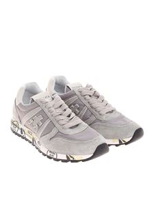 Premiata - Taupe and beige Sky sneakers