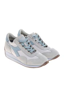 Diadora Heritage - White and blue Equipe sneakers