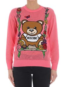 Moschino - Pink Teddy bear sweater