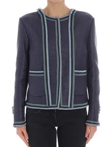Ermanno Scervino - Blue cotton jacket
