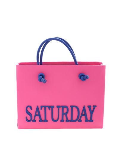Looking For For Sale Outlet Sast Neon pink Saturday mini shoulder bag Alberta Ferretti Cheap Sale Pictures Authentic Nicekicks For Sale sJ99JRY7