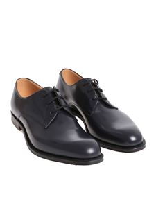 Church's - Scarpa derby Oslo blu Custom Grade