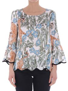 Shirtaporter - Multicolor Tiger blouse