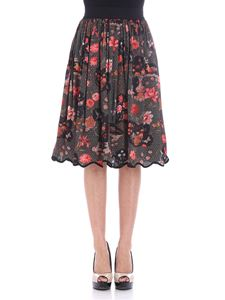 Shirtaporter - Black Zen Garden skirt