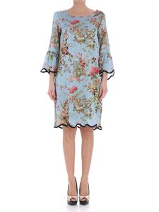 Shirtaporter - Zen Garden dress with floral pattern