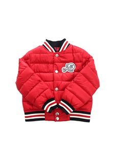 Moncler Jr - Red Corbiac down jacket