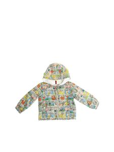 Moncler Jr - Barthou jacket with cartoon prints