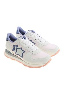 Atlantic Stars - Ice color and pink Vega sneakers