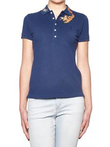 POLO Ralph Lauren - Blue embroidered polo