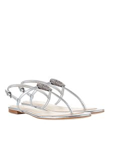 Tory Burch - Silver Liana sandals
