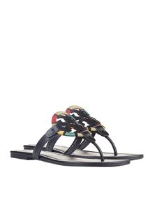 Tory Burch - Blue Miller flip flop sandals
