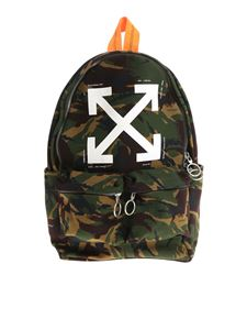 Off-White - Camouflage backpack
