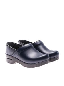 Dansko - Blue leather clogs