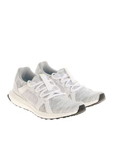 Adidas by Stella McCartney - White and gray UltraBOOST Parley sneakers
