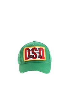 Dsquared2 - Green cap with logo