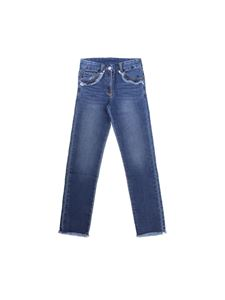 Monnalisa - Donald Duck 5 pocket jeans