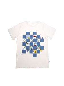 Stella McCartney Kids - White Arrow t-shirt
